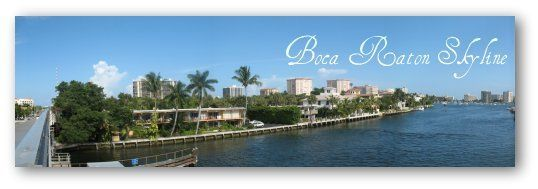 Boca Raton, FL Skyline