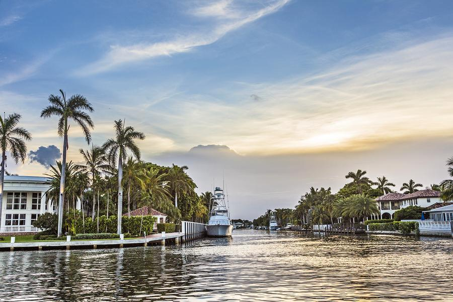 Boca Gated Waterfront Homes