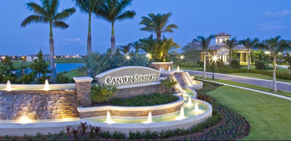 Boynton Beach S Top Gated Community Canyon Springs